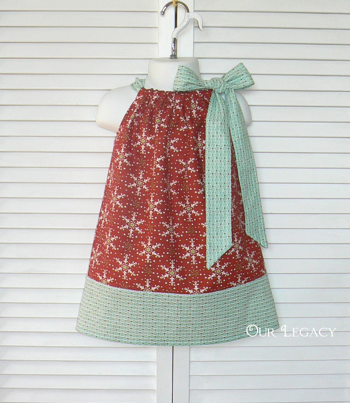 Christmas pillowcase dress give away…