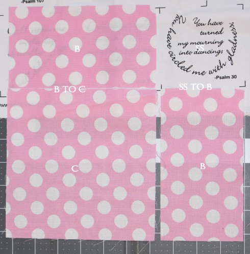 Comfort of Psalms Quilt Kit   sew sow so